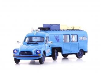 "Citroen Acadiane ""Gauloises Truckente"", blue, France, 1981"