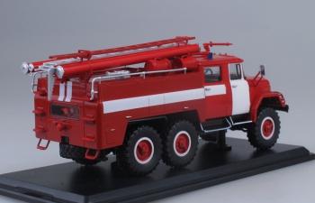 АЦ-40 (ЗИЛ 131)-137 без надписей, красный