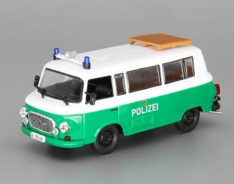 BARKAS B1000 Полиция ФРГ, Полицейские Машины Мира 63, white / green