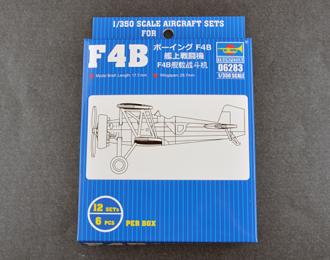 Сборная модель Американский палубный истребитель F4B (1:350, Trumpeter)