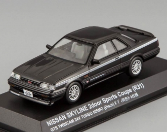 NISSAN Skyline 2000 GTS Coupe (R31) Nismo Wheel, black