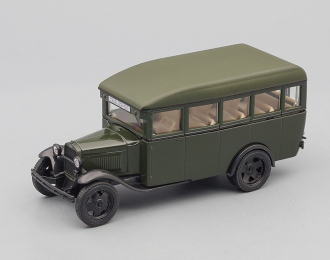 Горький-03-30 1933-1950 гг., Автолегенды СССР 273, темно-зеленый глянцевый