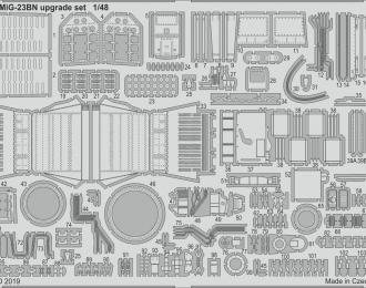 Набор фототравления МиГ-23БН набор дополнений