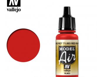 Краска акриловая `Model Air` Альй/Scarlet Red