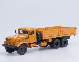 КРАЗ 257Б1 бортовой, оранжевый
