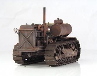 Сталинец С-60 трактор (ржавый)