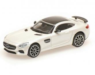 MERCEDES-AMG GTS  2015  WHITE