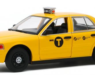 "FORD Crow Victoria ""NYC Taxi"" (такси Нью-Йорка) 2008 (из к/ф ""Джон Уик II"")"