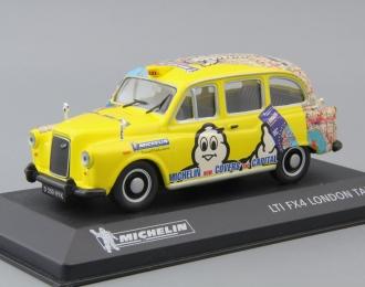 (Уценка!) LTI FX4 London Taxi Michelin, yellow