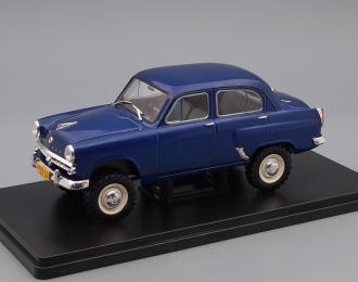 МОСКВИЧ-410, Легендарные Советские Автомобили 47, синий