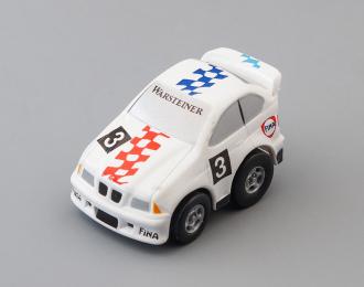 Сувенирная машинка BMW Ралли, белый