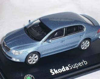 SKODA Superb II (2008), satin gray met