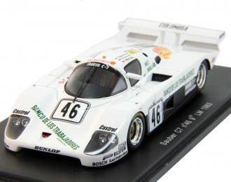 SAUBER C7 #46 9th Le Mans (1983), white