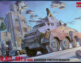 Сборная модель Немецкий бронеавтомобиль Sd.Kfz.231 Schwerer Panzerspahwagen