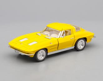 CHEVROLET Corvette Sting Ray (1963), yellow