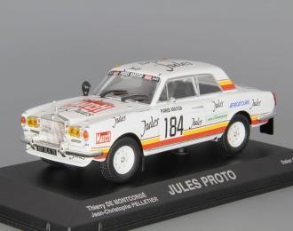 ROLLS-ROYCE Jules Proto #184 Dakar Jean Christophe Pelletier (1981), white