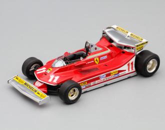 FERRARI 312 T4 11 Jody Scheckter Monaco GP 1979, red