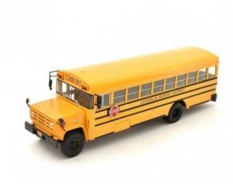 GMC 6000 School Bus USA (1990), yellow