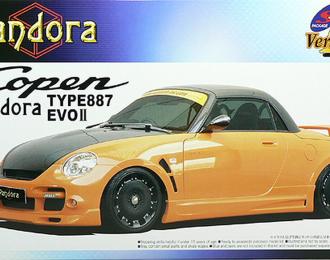 Сборная модель Daihatsu Copen Pandora Type 887