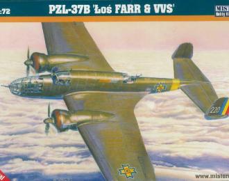 """Сборная модель Самолет P-37B Los """"Farr VVS"""""""