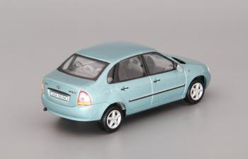 Волжский автомобиль 2118 Калина Седан, бирюзовый
