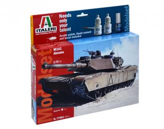 Сборная модель M1 Abrams (подарочный набор)