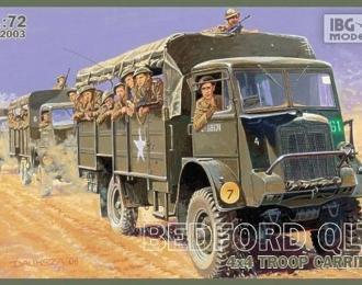 Сборная модель Bedford QLT Troop Carrier
