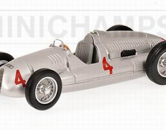 AUTO Union Typ D Winner Tazio Nuvolari British GP, silver