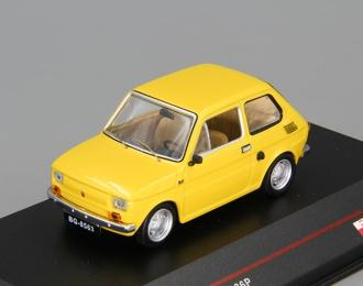 FIAT 126P (Maluch), light yellow