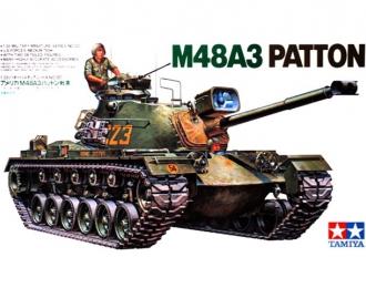 Сборная модель Амер.тяжелый танк M48A3 Patton, 1 фигура