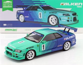 NISSAN Skyline GT-R (R34) #1 Falken Tires 1999