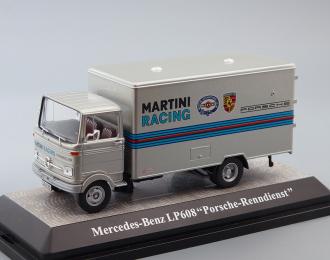 MERCEDES-BENZ LP608 Martini Porsche Service Truck, silver