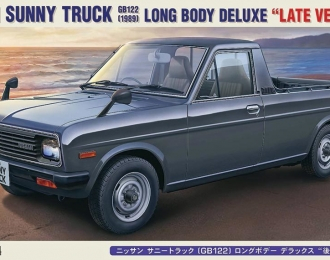 NISSAN Sunny Truck (GP122) Long Body Deluxe (Late Version)