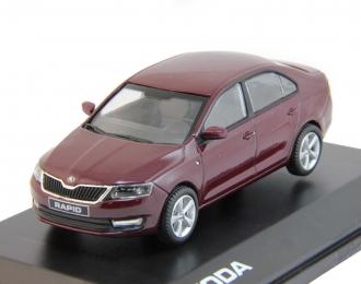 SKODA Rapid (2012), rosso brunello metallic