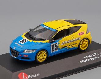 HONDA CR-Z - Spoon Edition - 95 (2011), blue / yellow