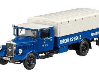 """MERCEDES-BENZ LO2750 """"Mercedes-Benz Renntransporter"""" (1933), blue"""