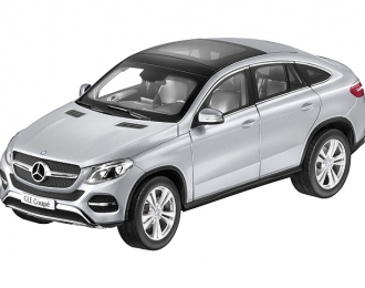 MERCEDES-BENZ GLE Coupe C292 (2015), silver