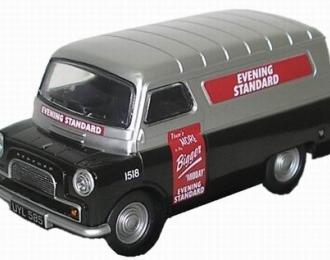 BEDFORD CA фургон Evening News 1965, черный с серым