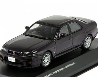 NISSAN Skyline GT-R(R33) Autech 40th Anniversary 4-dr, midnight purple