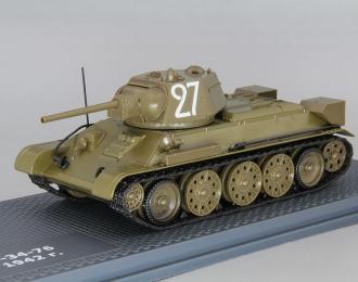 Танк Т-34 образца 1942 г., ТАНКИ Легенды Мировой бронетехники 1