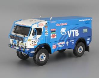 КАМАЗ 4911 #527 Race Truck Lisboa - Dakar (2007), blue / white