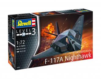 Сборная модель F-117 Stealth Fighter