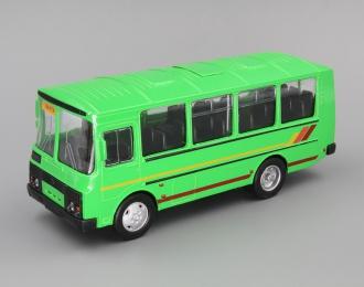 Павловский автобус 32053 Вахтовый, зеленый