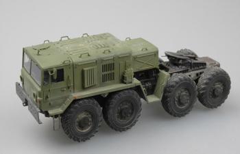 Сборная модель МАЗ-537 с прицепом ЧМЗ АП-52