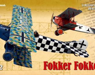 Сборная модель Самолет Fokker Fokker!