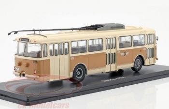 троллейбус SKODA 9TR Gera 1961 Beige