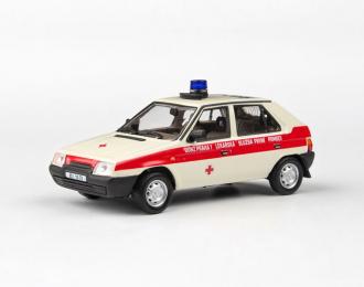 SKODA Favorit 136L OÚNZ Praha 1 1988