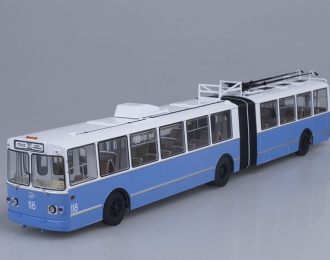 ЗИУ 10 (ЗИУ-683) троллейбус, бело-голубой