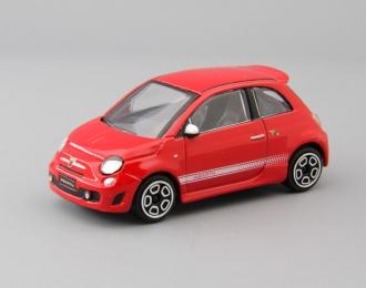 FIAT 500 Abarth, red