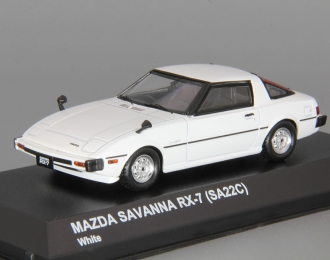 MAZDA Savanna RX-7 SA22C, white